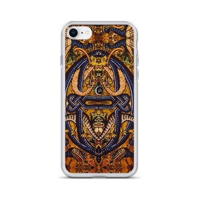 iPhone Case - Serpent and the Peacock