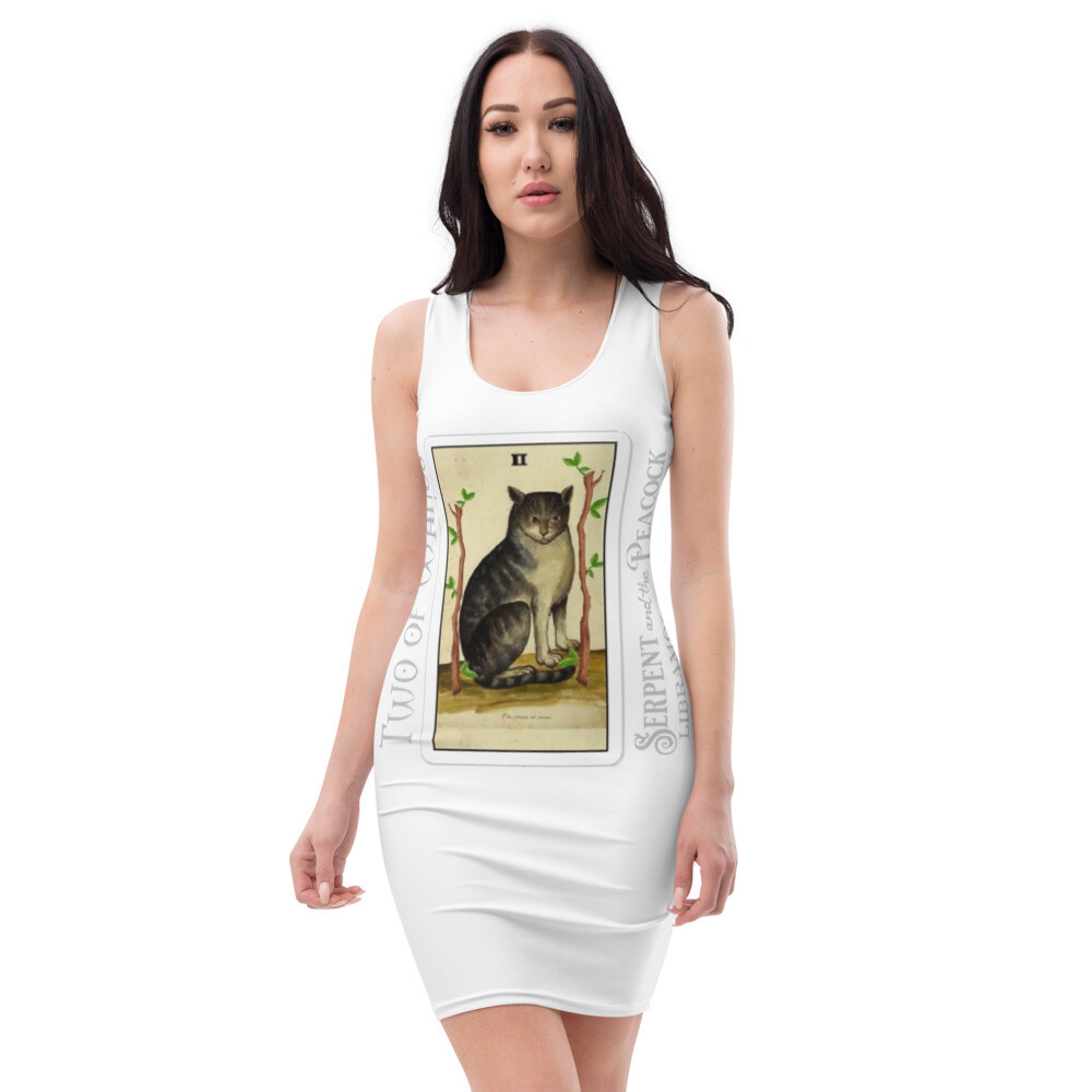 Sublimation Cut & Sew Dress - Tarot; Two of Wands