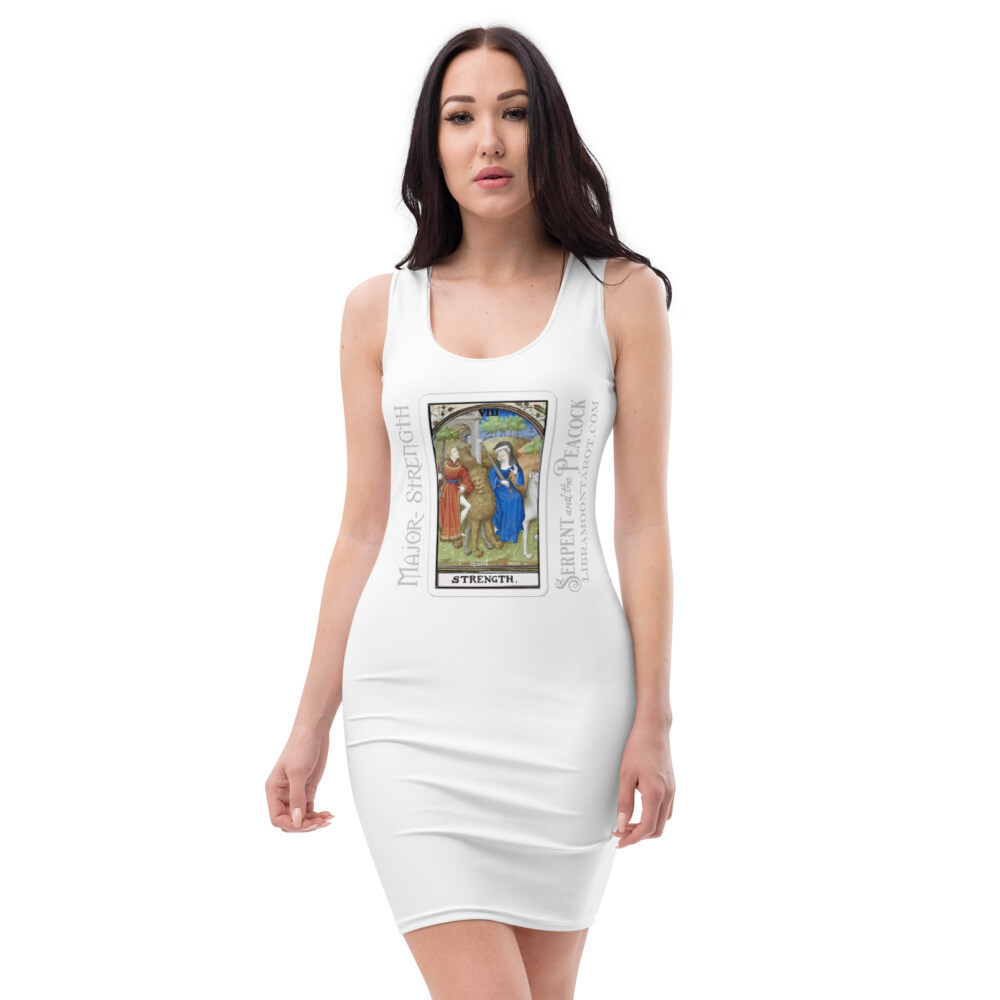 Sublimation Cut & Sew Dress - Tarot; Strength
