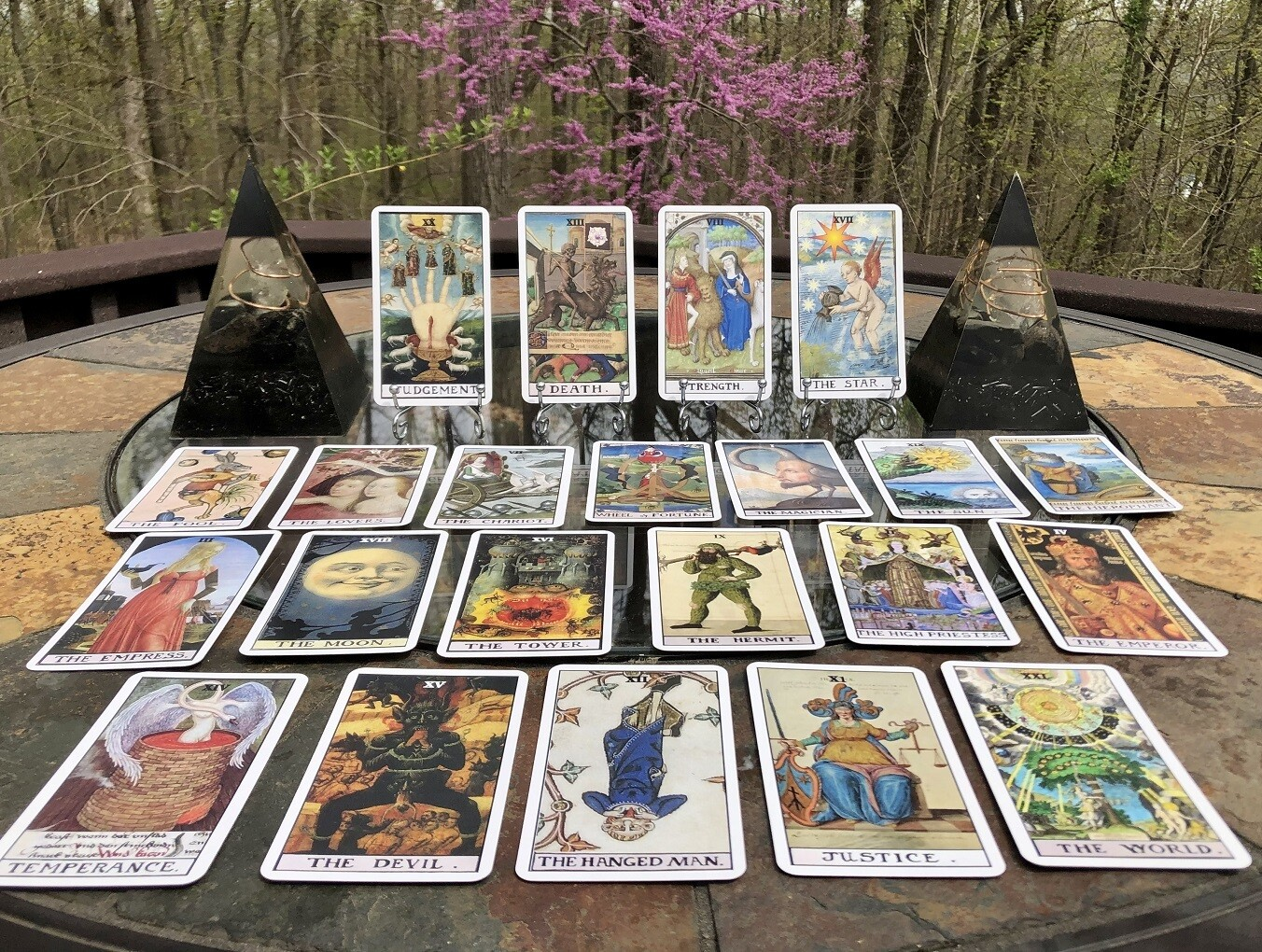 Medieval Tarot Cards Deck plus Guide Book