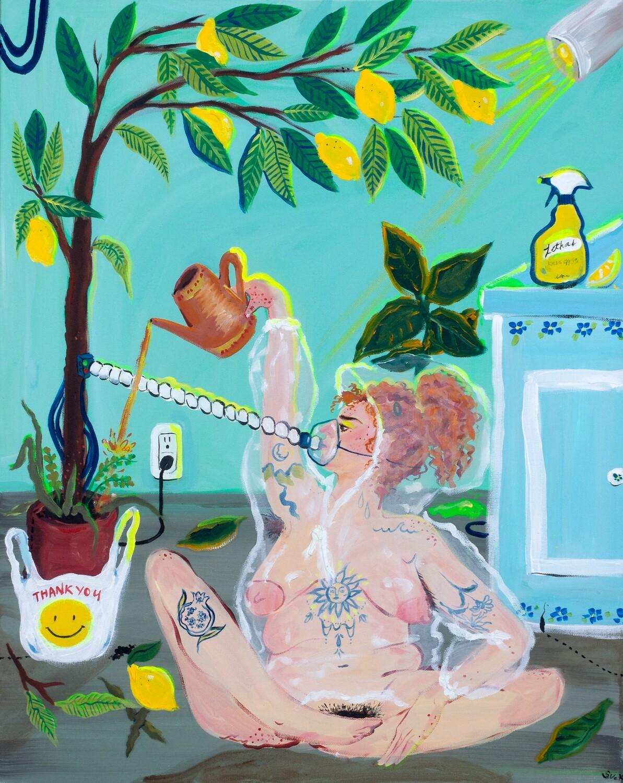 Lovely Lemon print