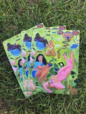 The Garden of Revolutionary Pleasures, prints