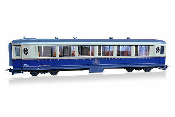 BEMO Modell des Salonwagens As 1141, Massstab 1:87 H0m