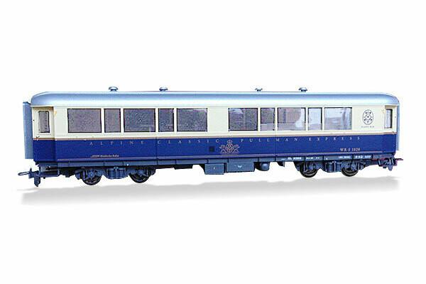 BEMO Modell des Pianobarwagens, Massstab 1:87, H0m