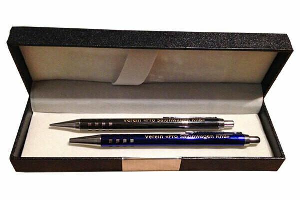 Set Kugelschreiber und Minenhalter