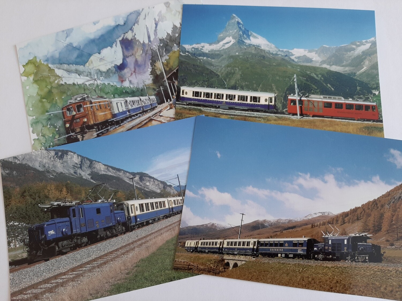 Ansichtskarten Set 4 Stück