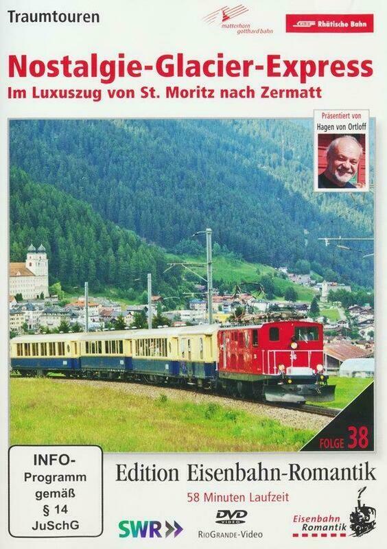 DVD Nostalgie Glacier Express