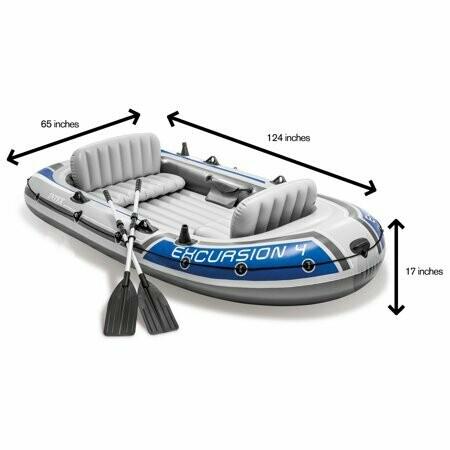 Schlauchboot Intex Excursion 4 400 kg
