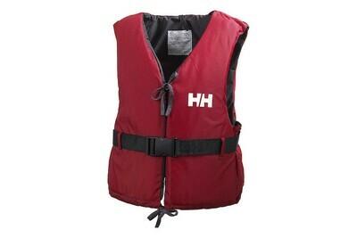 Schwimmweste Helly Hansen Grösse L von 70 bis 90 Kilo rot
