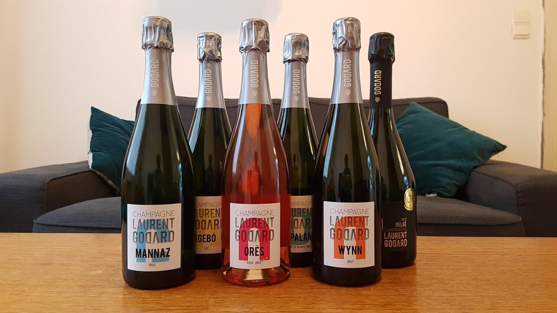 Caisse découverte Champagne Laurent Godard   6 x 75 cl