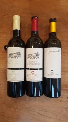 Domaine Thunevin-Calvet Caisse Mixte | 3 x 2 bouteilles de 75 cl