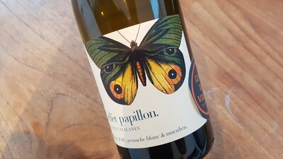L'effet Papillon 2020 |  IGP Côtes Catalanes Blanc | 6 x 75 cl