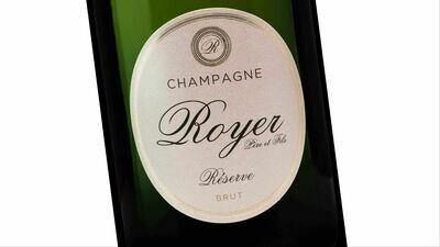 Champagne Royer Réserve Brut | 6 x 75 cl