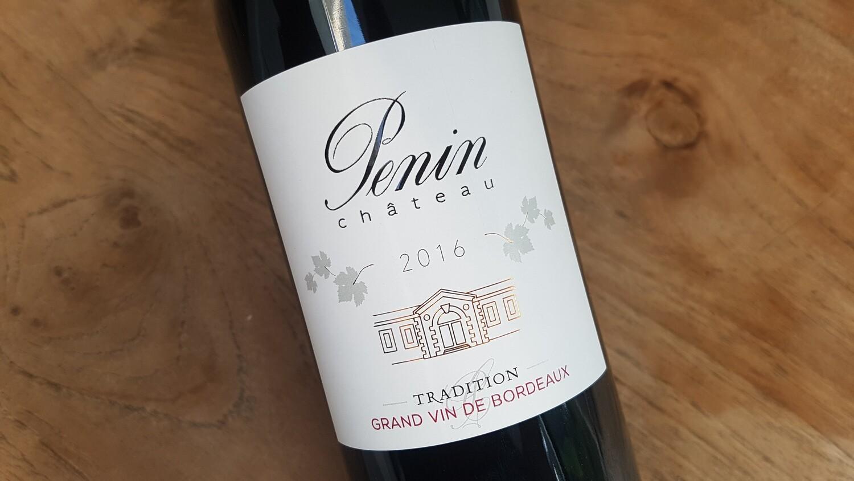 Château Penin Bordeaux Rouge Tradition 2016 | 6 x 75cl