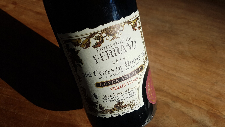 Domaine de Ferrand Vieilles Vignes 2018 | Côtes-du-Rhône Rouge | 6 x 75 cl