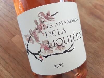 Les Amandiers de la Liquière Rosé 2020 | 6 bouteilles de 75 cl