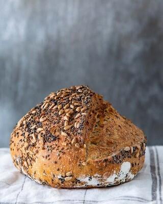 Local Artisan Seeded Sourdough Bread