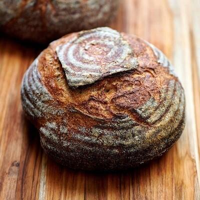 Local Artisan Wholemeal Sourdough Bread