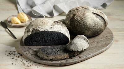 Local Artisan Charcoal Sourdough Bread