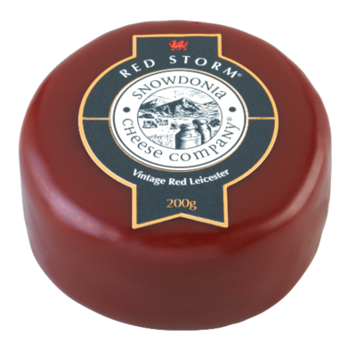 Snowdonia Red Storm Vintage Red Leicester 200g