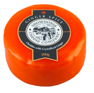 Snowdonia Ginger Spice Cheese 200g