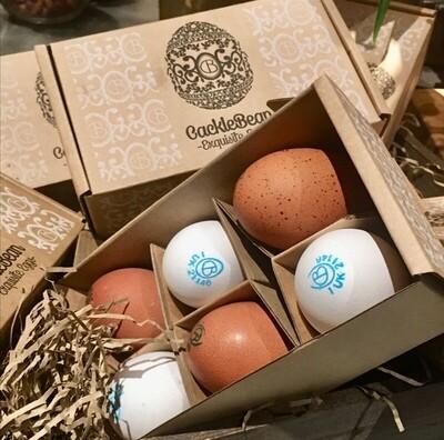 Cacklebean Rare Breed Free Range Eggs x 6