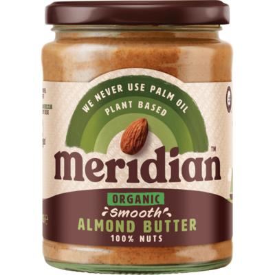 Meridian Organic Smooth Almond Butter 470g