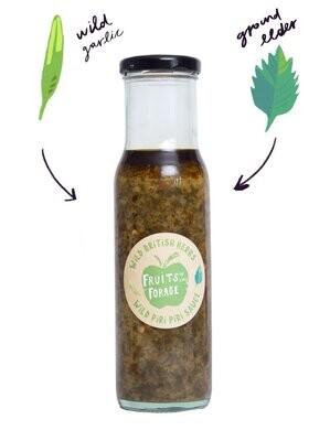 Fruits of the Forage:  Wild Garlic and Ground Elder Piri Piri Sauce