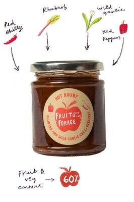Fruits of the Forage: Hot Rhuby Chilli Preserve