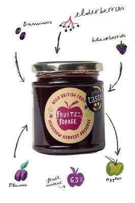 Fruits of the Forest: Hedgerow Harvest Jam