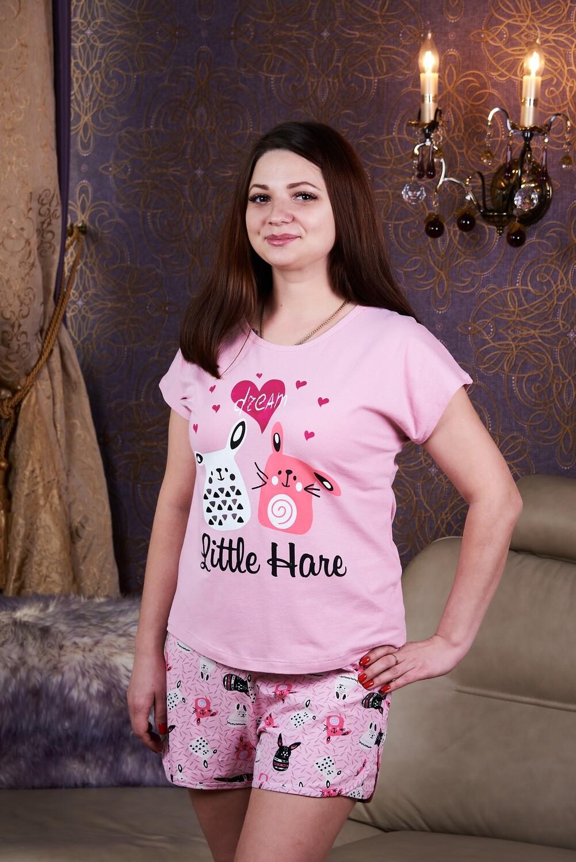 Комплект женский (шорты+футболка)
