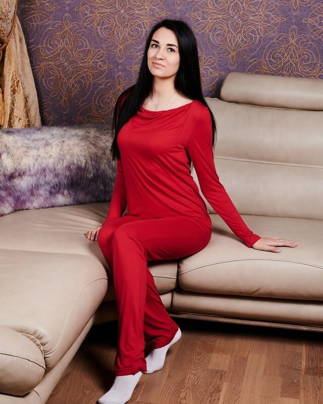 Пижама с длинным рукавом