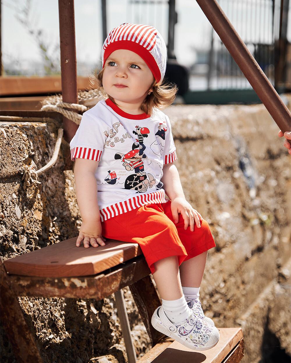 Комплект детский (красный)