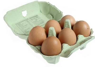 Local Fresh Free Range Eggs - Large