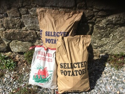 Locally Grown Potatoes - Unwashed