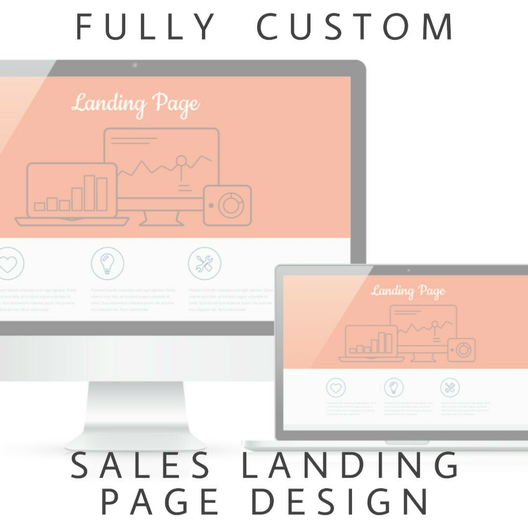 Member Service - Custom Sales Page Design