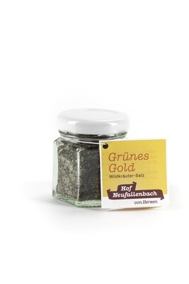 Hof Neufallenbach - Grünes Gold Bio Wildkräutersalz