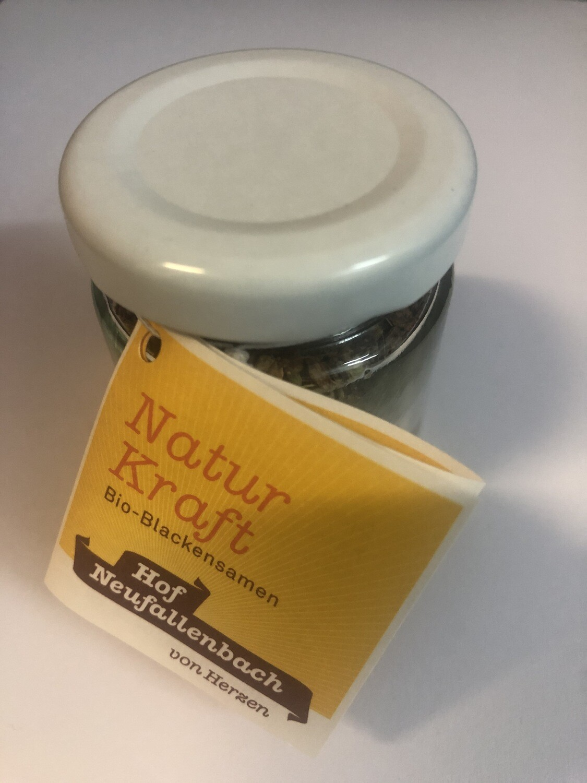 Hof Neufallenbach - Natur Kraft Bio-Blackensamen