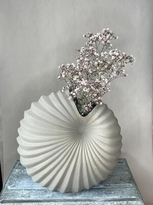 Palm Keramik Vase kakhi