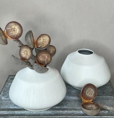 Darwin Keramik Vase weiss