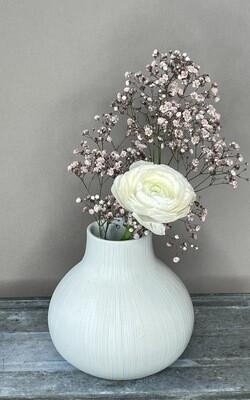 Duke Keramik Vase weiss