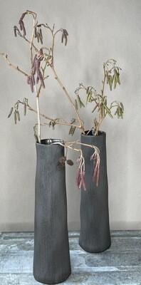 Koza Keramik Vase schwarz