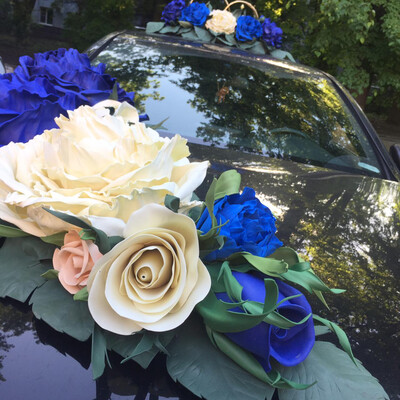 Набор д/авто «VIP»&1, синий
