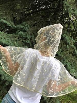 Болеро-накидка венчальное, айвори