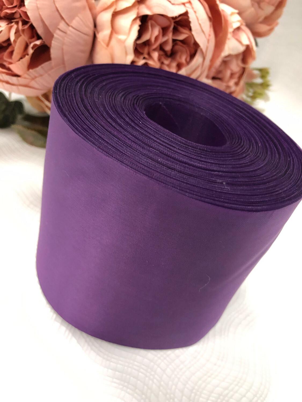 Лента метражная 10 см, п/э, фиолет