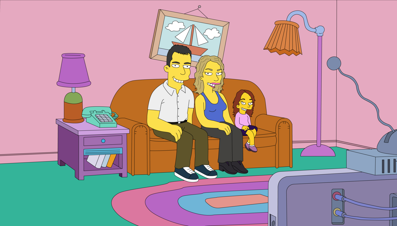 """Ritratto singolo o di famiglia in """"Simpson Style"""""""
