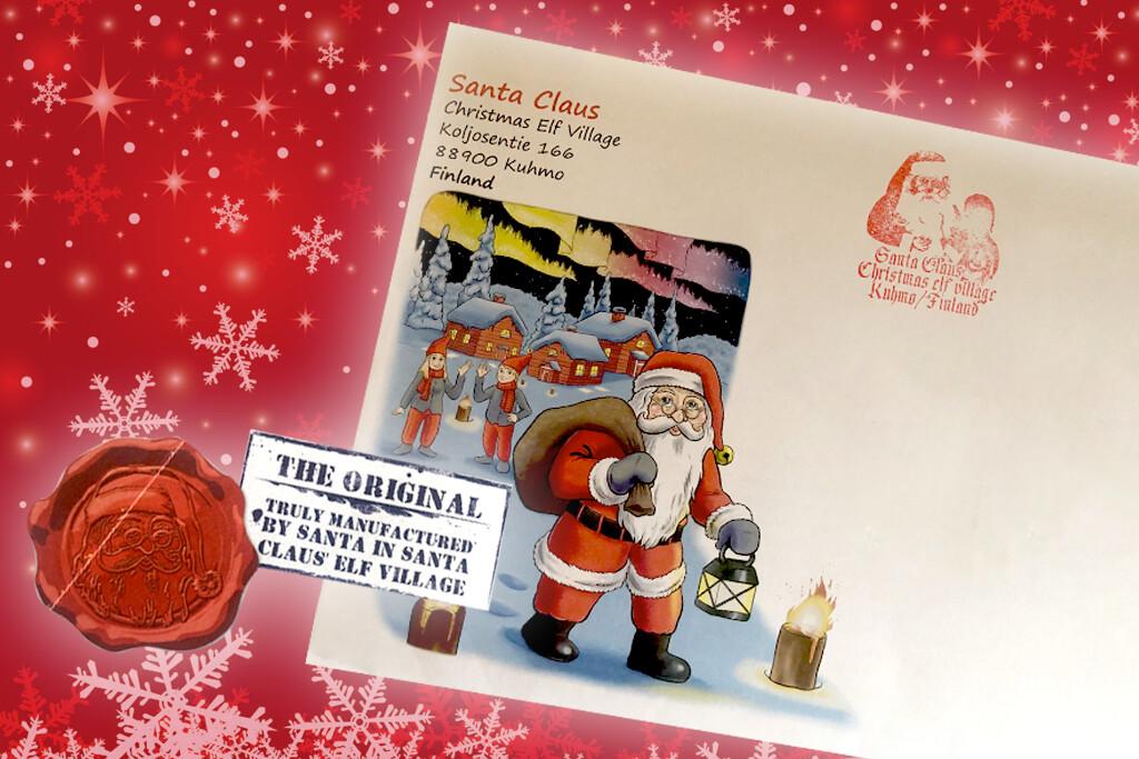 Lettera personalizzata di Babbo Natale dalla Lapponia Nuovo soggetto 2021