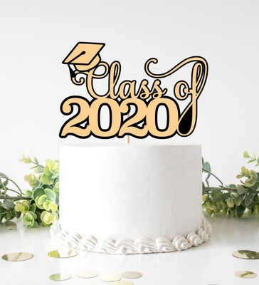 Grad 2020 - Cake Topper