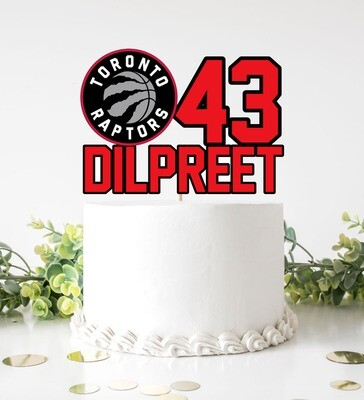 NBA Cake Topper