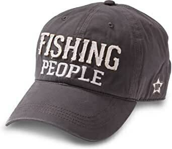 WP - Fishing People Hat Dark Grey